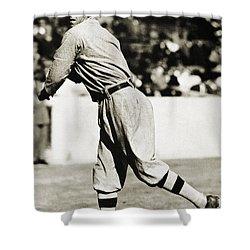 Eddie Plank (1875-1926) Shower Curtain by Granger