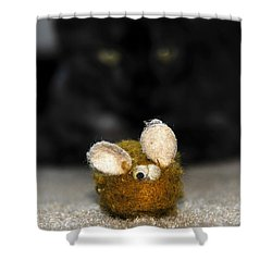 Eye On The Prize Shower Curtain by David Lee Thompson