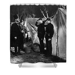 Film Still: Abraham Lincoln Shower Curtain by Granger