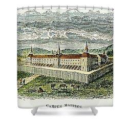 Fort Marietta, Ohio, C1790 Shower Curtain by Granger