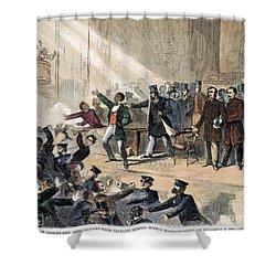 Frederick Douglass, 1860 Shower Curtain by Granger