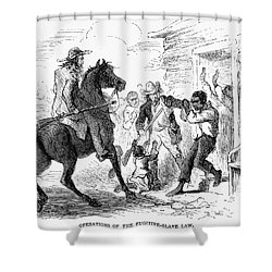Fugitive Slave Act, 1850 Shower Curtain by Granger