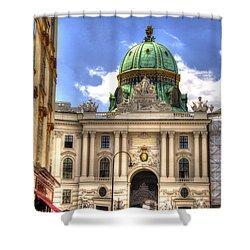 Hofburg Palace - Vienna Shower Curtain by Jon Berghoff