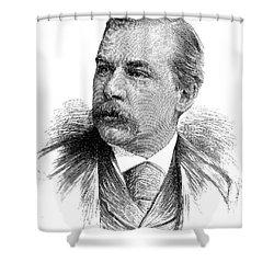 John Pierpont Morgan Shower Curtain by Granger