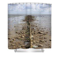 Keitum - Sylt Shower Curtain by Joana Kruse