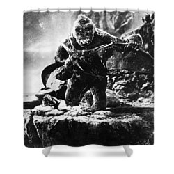 King Kong, 1933 Shower Curtain by Granger