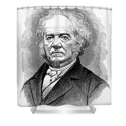 Lewis Tappan (1788-1873) Shower Curtain by Granger