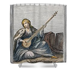 Long Lute, 1723 Shower Curtain by Granger