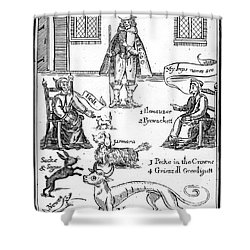 Matthew Hopkins (d. 1647) Shower Curtain by Granger