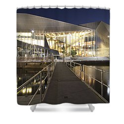 Melbourne Convention Center Shower Curtain by Douglas Barnard