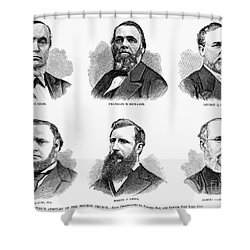 Mormon Apostles, 1877 Shower Curtain by Granger