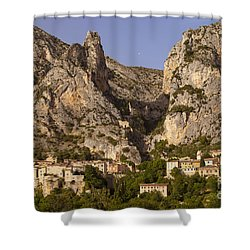 Moustier-sainte-marie Shower Curtain by Brian Jannsen