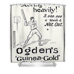 Ogdens Cigarettes, 1897 Shower Curtain by Granger