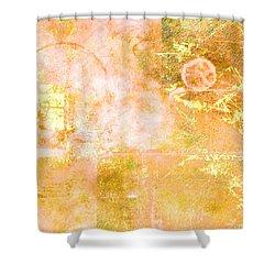 Orange Peel Shower Curtain by Christopher Gaston