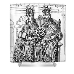 Otto I (912-973) Shower Curtain by Granger