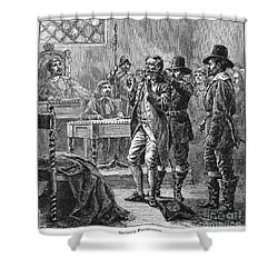 Puritan Punishment Shower Curtain by Granger
