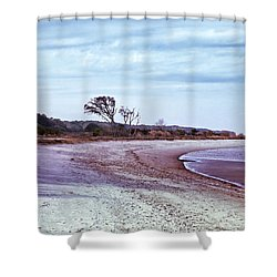 Quiet Cove  Shower Curtain by Phill Doherty