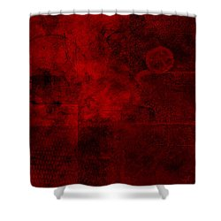 Redstone Shower Curtain by Christopher Gaston