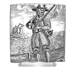 Robinson Crusoe Shower Curtain by Granger