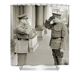 Ruth & Pershing, 1924 Shower Curtain by Granger