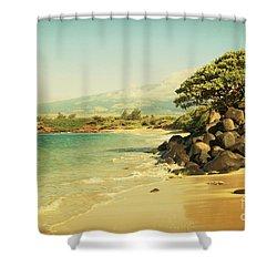 Sprecks Shower Curtain by Sharon Mau