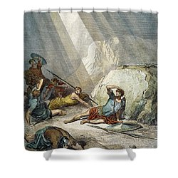St. Paul: Conversion Shower Curtain by Granger