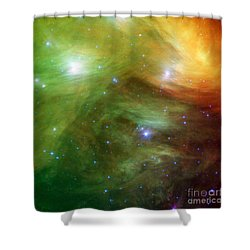 The Seven Sisters, Also Known Shower Curtain by Stocktrek Images