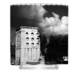 Tomb Of Eurysaces The Baker Shower Curtain by Fabrizio Troiani