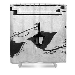 Undercover Shower Curtain by Skip Hunt