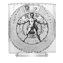 Utrisque Cosmi, Title Page, 1617 Shower Curtain by Science Source