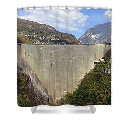 Valle Verzasca - Ticino Shower Curtain by Joana Kruse