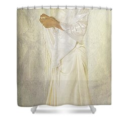 Wedding Dress Shower Curtain by Joana Kruse
