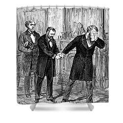 William Worth Belknap Shower Curtain by Granger