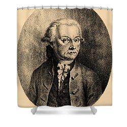 Wolfgang Amadeus Mozart, Austrian Shower Curtain by Photo Researchers, Inc.