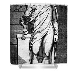 Alexander Hamilton Shower Curtain by Granger