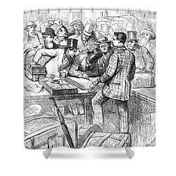 Centennial Fair, 1876 Shower Curtain by Granger