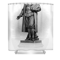 Roger Williams (1603-1683) Shower Curtain by Granger
