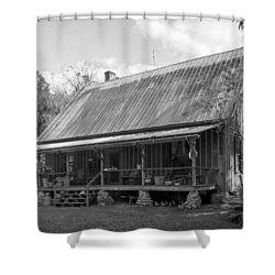 1850's Florida Cracker Farmhouse Shower Curtain by Lynn Palmer