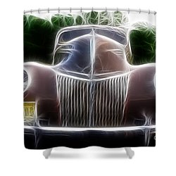 1939 Ford Deluxe Shower Curtain by Paul Ward