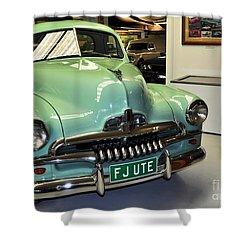 1953 Fj Holden Ute Shower Curtain by Kaye Menner
