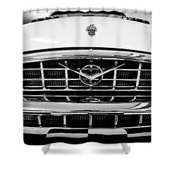1956 Packard Caribbean Custom Cvt Shower Curtain by Sebastian Musial