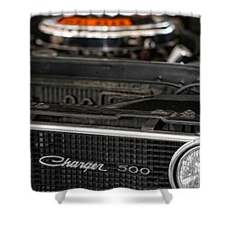 1969 Dodge Charger 500 Shower Curtain by Gordon Dean II