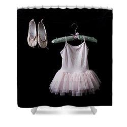 Ballet Dress Shower Curtain by Joana Kruse
