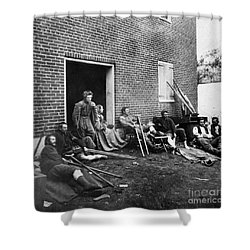Civil War: Wounded, 1864 Shower Curtain by Granger