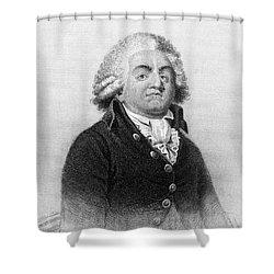 Comte De Mirabeau Shower Curtain by Granger