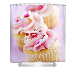 Cupcakes Shower Curtain by Elena Elisseeva