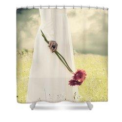 Flowers Shower Curtain by Joana Kruse