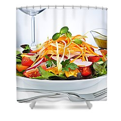 Garden Salad Shower Curtain by Elena Elisseeva