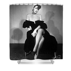 Gypsy Rose Lee (1913-1970) Shower Curtain by Granger