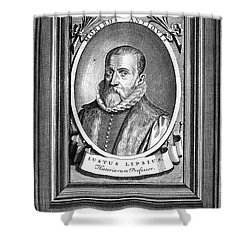 Justus Lipsius (1547-1606) Shower Curtain by Granger